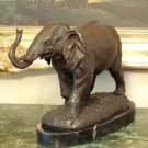 Elephant Safari Bronze Sculpture