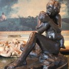Motherly Love, Mother and Infant Bronze Sculpture