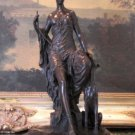 Hecate Mythological Greek Goddess of Wealth Bronze Sculpture