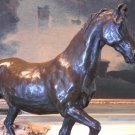 Handsome Equestrian Horse Bronze Sculpture