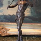 Roman Gladiator Warrior Bronze Sculpture