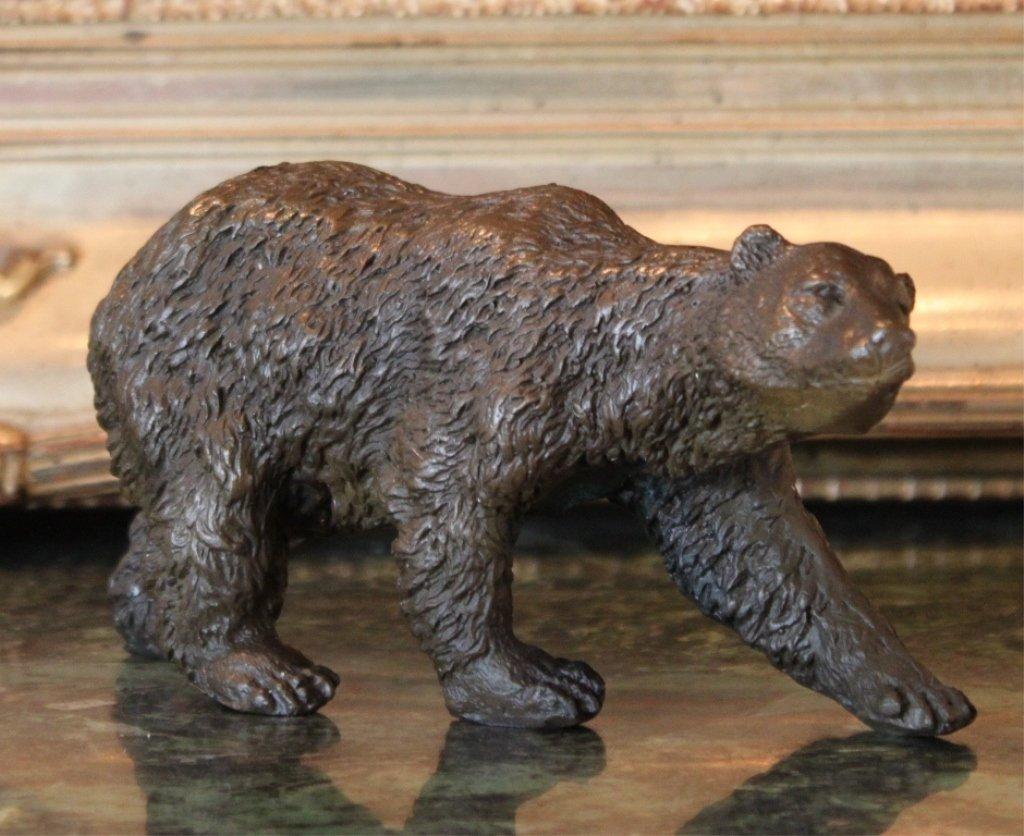 Arctic Polar Bear Bronze Sculpture