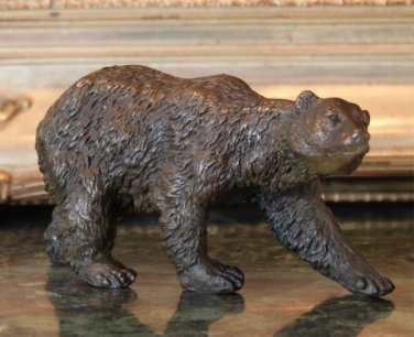 Arctic Polar Bear Bronze Sculpture