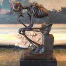 Skeleton Bronze Sculpture