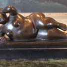 Botero Inspired Abstract Nude Woman Sculpture