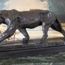 Large Jaguar Bronze Sculpture
