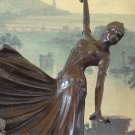 Art Deco Ball Room Dancer Bronze Sculpture