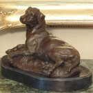 Labrador Retriever Bronze Sculpture