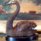 Swan Bronze Sculpture