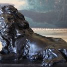 Wildlife Lion Bronze Sculpture