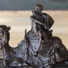 Camel Corps Cavalry and Rider Bronze Sculpture