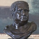 Roman Julius Caesar Bust Bronze Sculpture