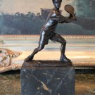 USTA Tennis Athlete Player Bronze Sculpture