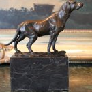English Pointer Hunting Gundog Bronze Sculpture