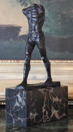 "Rodin's ""The Walking Man"" Bronze Sculpture"