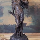 Large Mythological Fairy Sprite Bronze Sculpture