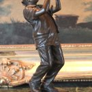 Blues Jazz Musician Entertainer Bronze Sculpture