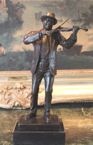 Blues Jazz Musician Entertainer Bronze Sculpture