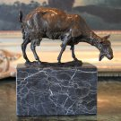 On the Farm Billy Goat Bronze Sculpture