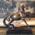 Stunning Equestrian Trotting Horse Bronze Sculpture