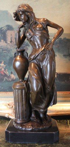 Large Minerva Roman Goddess of Wisdom Bronze Sculpture