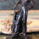 LPGA Lady Golfer Athlete Bronze Sculpture