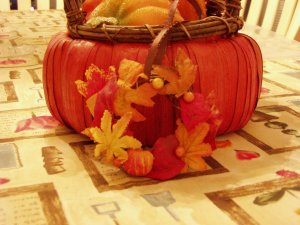 Harvest Celebration Mini Wreath