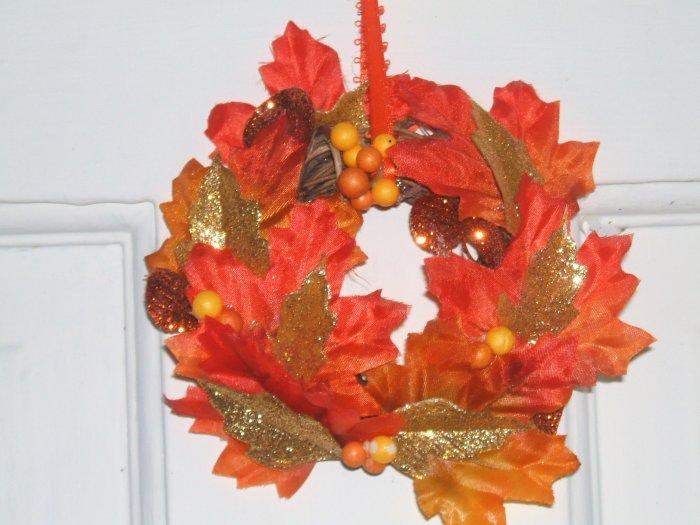 Autumn Splendour mini wreaths