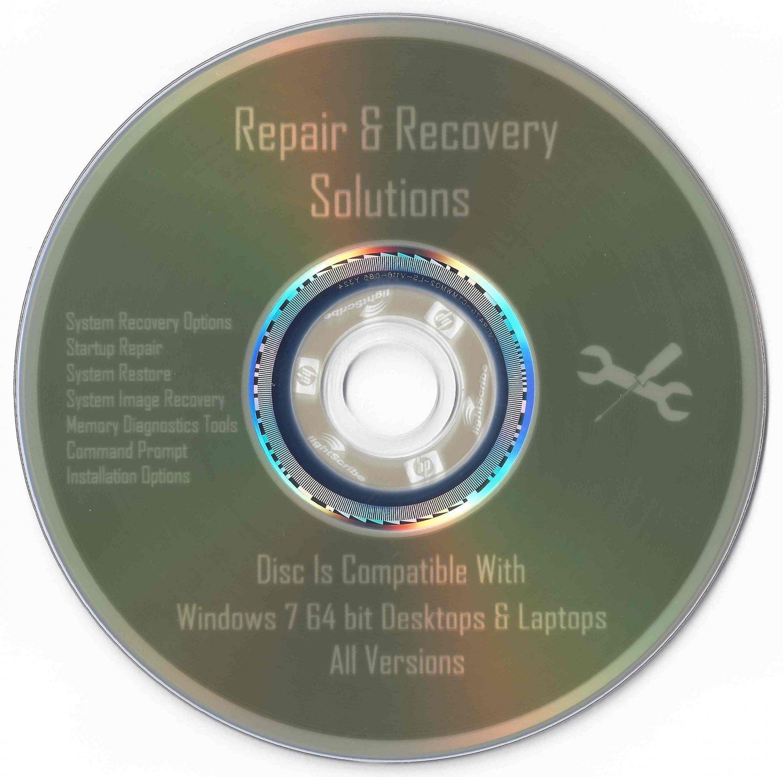 how to make repair disk windows 7