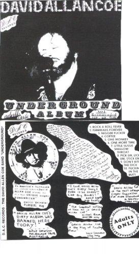 David Allan Coe Underground cd