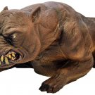 LIFESIZE HALLOWEEN EVIL MAD DOG HAUNTED HOUSE PROP yard decor