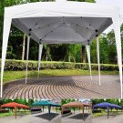 10' X 20' EZ POP UP outdoor Wedding Party Tent Folding Gazebo Beach Canopy w/bag