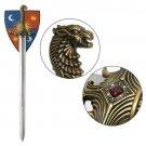 AUTHENTIC VALYRIAN STEEL Game of Thrones: Oathkeeper Sword  prop replica