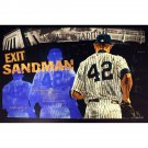 Mariano Rivera limited ed Signed Stephen Holland Giclee  art 25x44  Canvas print