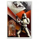 STAR WARS STORMTROOPER EMPIRE BEFORE ALL LIMITED EDITION SIGNED PRINT