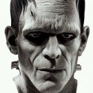 Official Deluxe hand painted Classic Borris Karloff FRANKENSTEIN adult MASK