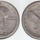 1920S LIBERTY STANDING QUARTER  READABLE DATE