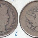 KEY DATE 1893S BARBER HALF DOLLAR