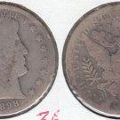 1898S BARBER HALF DOLLAR