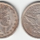1898 BARBER QUARTER  SHARP XF DETAIL