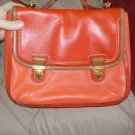 Coach Perfect for Spring Crossbody Satch in Rust and Orange