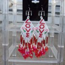 Handmade Love Valentine Earrings