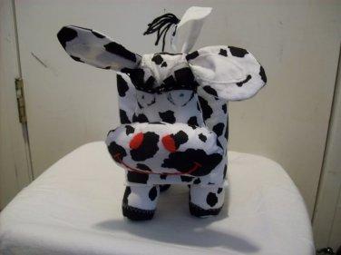 Handmade Cow Tissue Box Cover