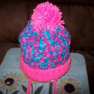 Hand Crocheted Hat For Kids In Bon Bon