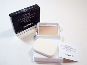 Chanel Le Blanc Light Creator Whitening Compact Foundation #12 refill