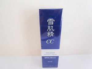 Sekkisei White CC Cream  SPF 50+ 26ml new Kose #02 ochre