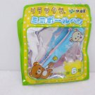 San X Rilakkuma Relax Bear Mini Ball Pen tea Blue red