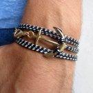 Men's Bracelet - Men's Anchor Bracelet - Men's Jewelry - Men's Gift - Boyfriend Gift - Guys