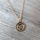 Men's Necklace - Men's Coin Necklace - Men's Gold Necklace - Mens Jewelry
