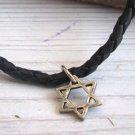 Men's Necklace - Men's Star Of David Necklace - Men's Judaica Necklace - Mens Jewelry
